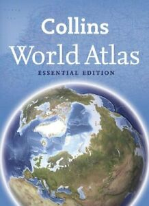 Collins World Atlas: Essential Edition by Collins Maps Paperback Book The Fast
