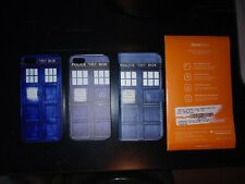 Doctor Who Tardis Police Box Cell Phone Covers & Screen Protector iPhone SE/5/5S