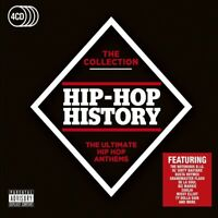 HIP-HOP HISTORY:THE COLLECTION (ICE-T, B.O.B, LIL WAYNE, UPTOWN,...) 4 CD NEUF
