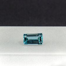 Aquamarin 1,16 Carat facettierter Edelstein Beryll Gemstone geschliffen