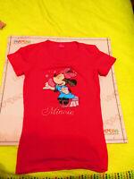 Disney Jersey Femme Bébé Fille Manche Courte TAILLE S