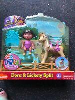 fisher price nickelodeon DORA & LICKETY SPLIT Dora Explorer pony adventures NISP
