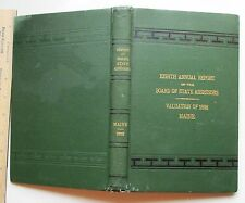 Annual Report of the Board of the State Assessors of the State of Maine 1898