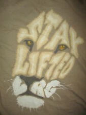 LRG STAY LIFTED LION T SHIRT Research Group Jungle Urban Safari Olive MED