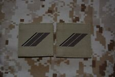 G02 grades militaires basse visibilité galons Armée Française insignes Airsoft