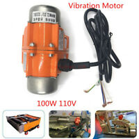 US Stock 110V 100W Single Phase Vibration Motor As a Concrete Table shaker New