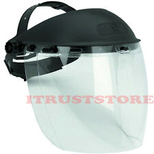 ADJUSTABLE FULL EYE FACE HEAD SCREEN SAFETY SHIELD PROTECTION MASK GOGGLE