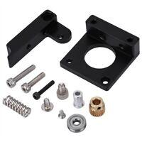 MK 8 Extruder Feeder DIY Kit 3D Printer Aluminum Extruder Kit Black