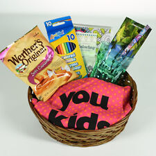 Mother's Birthday Gift Basket - Humorous Apron, Relaxation Coloring Book