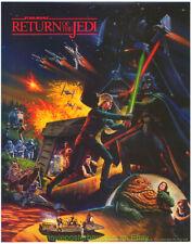 RETURN OF THE JEDI MOVIE POSTER RARE 2 SIDED 1983 HI-C/ COCA-COLA PROMO PRINT