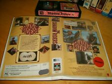 Betamax *THE SHADOW RIDERS* 1982 Rare Australian 1989 Issue - Romantic Western!