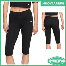 Pinocchietto donna Nike pantacollant ragazza fuseaux al ginocchio elasticizzato