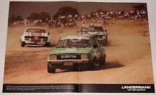 Rallyecross 1980 - VW Jetta Turbo / Golf GTI, Alfa Romeo