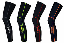 Zimco Cycling Biking Super Roubaix Winter Cycling Thermal Leg Warmers Black
