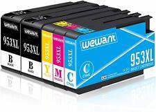 Wewant 953XL Compatible Cartouches d'encre Remplacer pour HP 953XL 953 Travaille
