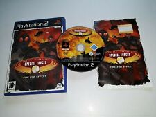 * Sony Playstation 2 Jeu * CT SPECIAL FORCES FIRE FOR EFFECT * PS2