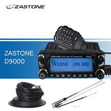 Car Walkie Talkie VHF&UHF LED Display ZASTONE D9000+ HH9000 Antenna+Antenna Base