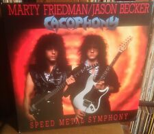 MARTY FRIEDMAN/JASON BECKER*CACOPHONY speed metal symphony 1987 DUTCH ROADRUNNER