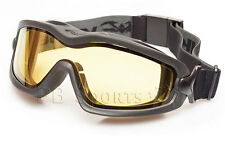 Valken Sierra Airsoft Goggle V-TAC Yellow thermal anti-fog dual pane lens