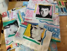 Vintage New Kids On The Block NKOTB Twin Bed Sheet Set