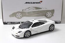 1:18 Minichamps McLaren f1 Road Car 1994 White New chez Premium-modelcars