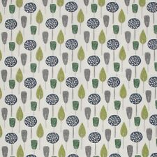 iLiv Scandi Trees Emerald Curtain Craft Upholstery Designer Cotton Fabric