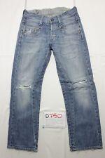 G-star radar low loose jeans usato (Cod.D750) Tg.44 W30 L32 boyfriend