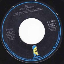 "U2 - In God's Country 7"" 45"