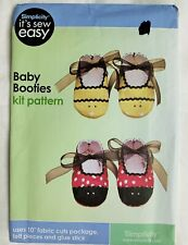 Simplicity Sewing Pattern Uncut Baby Booties Easy