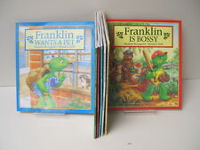 Franklin Books by Paulette Bourgeois & Brenda Clark, Lot of 7 Books