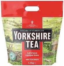 Yorkshire 480 Tea Bags TeaBag - Taylors Of Harrogate 1.5kg Weight