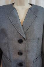 "Kasper Skirt Suit Sz 4 Navy ""Precious Metals"" Classic Business Evening Wear Skir"
