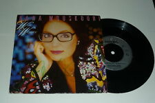 """NANA MOUSKOURI - Why Worry - 1987 UK 7"""" Signed"""