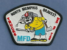 MEMPHIS TENNESSEE FIRE DEPARTMENT TRUCK COMPANY 6 PATCH