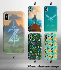 The Legend of Zelda case for iphone 11 12 pro max XR X XS SE 2020 8 7 plus 6+ SN
