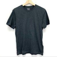 BANANA REPUBLIC Fitted Short Sleeve Crew Gray Tee T-shirt Men's SMALL EUC