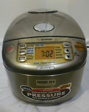 Zojirushi NP-HTC10 Induction Heating 5-1/2-cup Pressure Rice Cooker