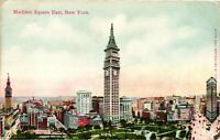 Vintage Postcard - Madison Square East Unposted New York NY  #3163