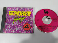 TECHNO PARTY HOUSE VOLUME 4 - CD 1992 GERMAN EDITION DANCE FACTORY