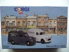 Corgi D13/1 - Morris Minor Police Vans - Limited Edition. MIB.