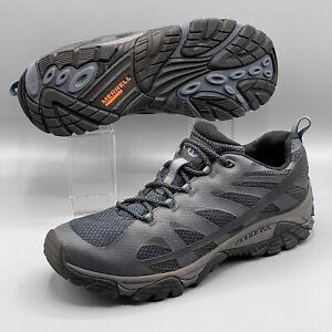 Men's Merrell Hiking Shoes Moab Edge 2 Navy Size US 11 EUR 45 J77423 Hardly Worn
