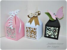 SIZZIX THINLITS 661240- PRETTY PETAL BOX - 2 DIES - FREE P&P