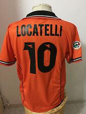 Maglia calcio Udinese match worn 1998 99 n 10 Locatelli shirt Jersey trikot
