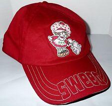 Strawberry Shortcake Hook and Loop Adjustable Red Baseball Cap Sweet Junior 2003