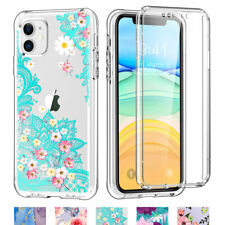 For iPhone XR 11 Slim Silicone Bumper Hard TPU Case Cover with Screen Protector