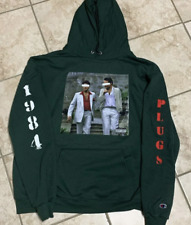 "NEW Benny the Butcher - ""The Plugs I Met"" Hoodie - Green/XL - Champion GxFR"