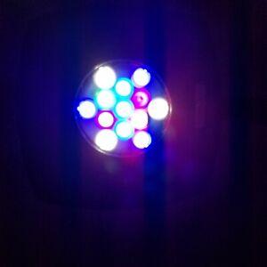 """AI Prime HD with 12"""" Flex Arm Gooseneck Mount 13 led Aqua Illumination"""