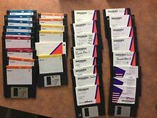 QuarkXpress 3.2 Diskettes And Quark Express 3.32 Smart Installer Disks Used