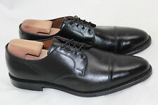 $395 Mens Allen Edmonds 'Riverside' Cap Toe Buchler Shoe Black - Size 11.5D (F8)