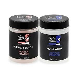 Naio Nails Perfect French Collection Acrylic Powder 2 x 65g